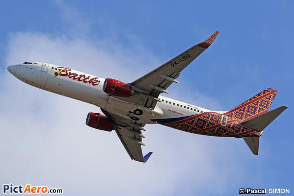 Boeing 737-8GP/WL (Batik Air)