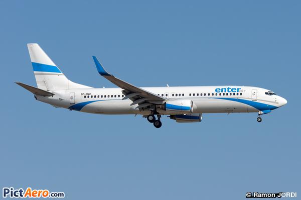 Boeing 737-83N/WL (Enter Air)