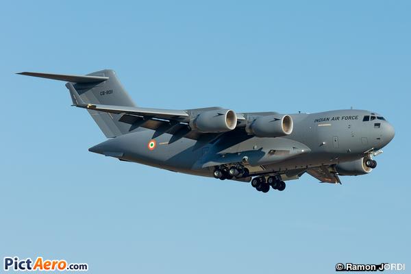 Boeing C-17A Globemaster III (India - Air Force)