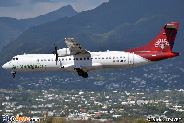 ATR 72-500 (ATR-72-212A) (Air Madagascar)
