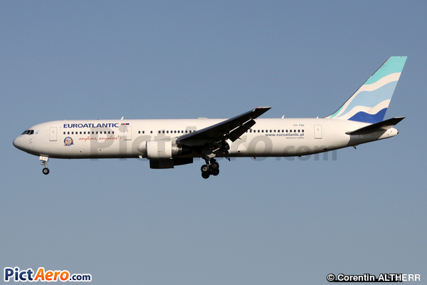 Boeing 767-34P/ER (EuroAtlantic Airways)