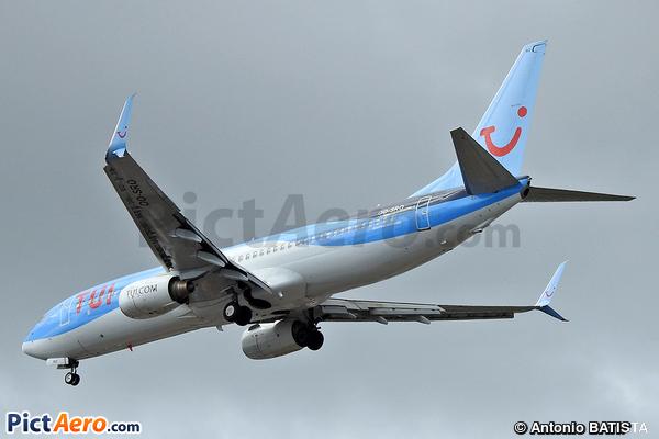Boeing 737-86N/WL (TUI Airlines Belgium)