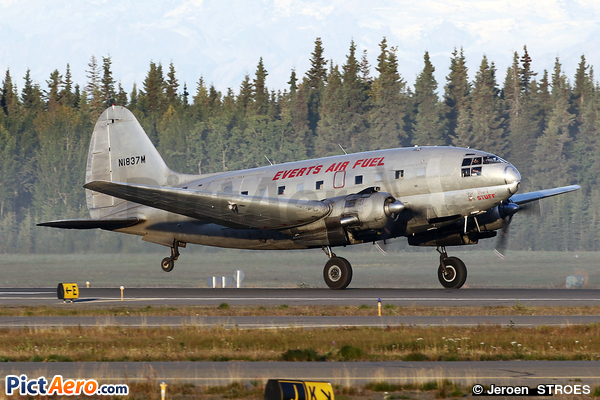 Curtiss C-46F Commando (CW-20B-4) (Everts Air Cargo)