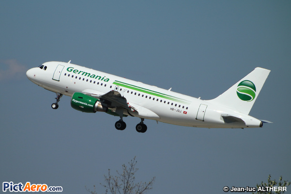 Airbus A319-112 (Germania Flug AG)