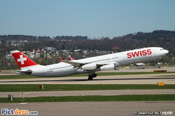 Airbus A340-313X (Swiss International Air Lines)