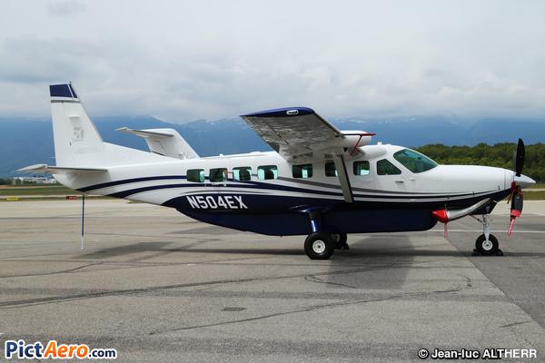 Cessna 208b Grand Caravan Ex N504ex Textron Aviation By Jean Luc Altherr Pictaero