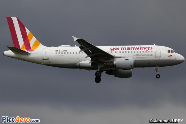 Airbus A319-112 (Germanwings)