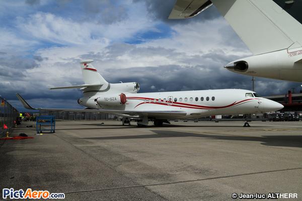 Dassault Falcon 7X (Swan Aviation)