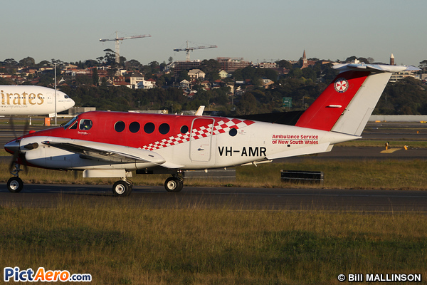 Beech Super King Air 200 (Ambulance Service of New South Wales)