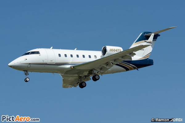 Canadair CL-600-2B16 Challenger 604 (Bank Of Utah)