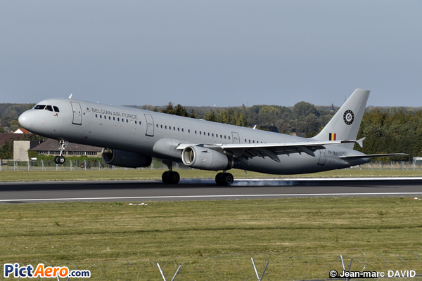 Airbus A321-231 (Belgium - Air Force)