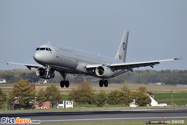 Airbus A321-231 (Belgium - Air Force)