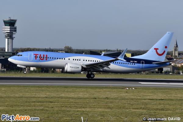 Boeing 737-8 Max (TUI Airlines Belgium)