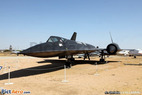 Lockheed SR-71A (Edwards AFB Air Force Flight Test Museum)