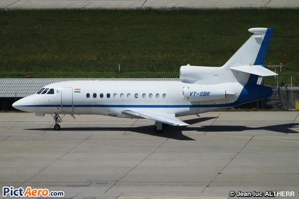 Dassault Falcon 900EX (Bharat Forge Ltd)