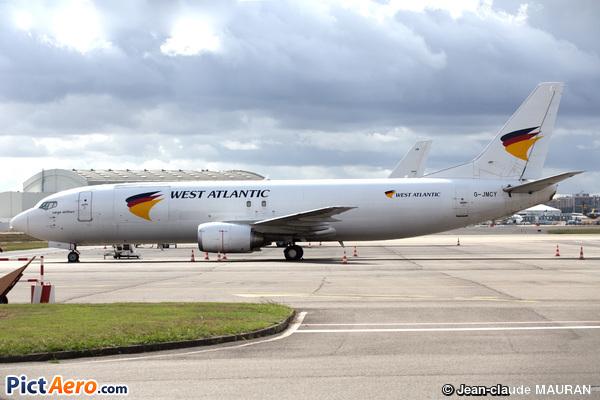 Boeing 737-4Q8 (West Atlantic Airlines)