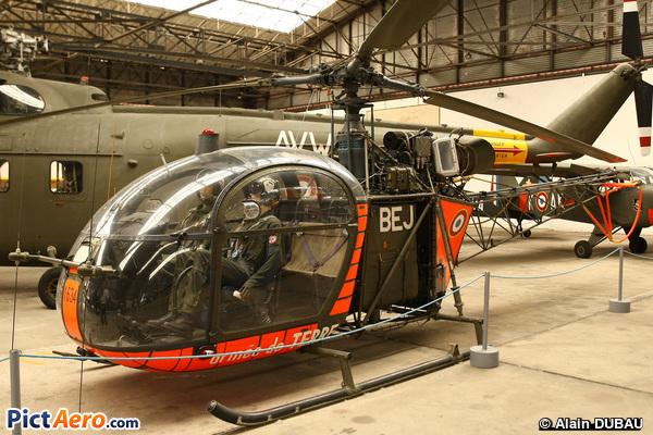 SE 3130 Alouette II atrouste (Musée de l'ALAT de Dax)