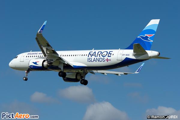 Airbus A320-251N (Atlantic Airways)