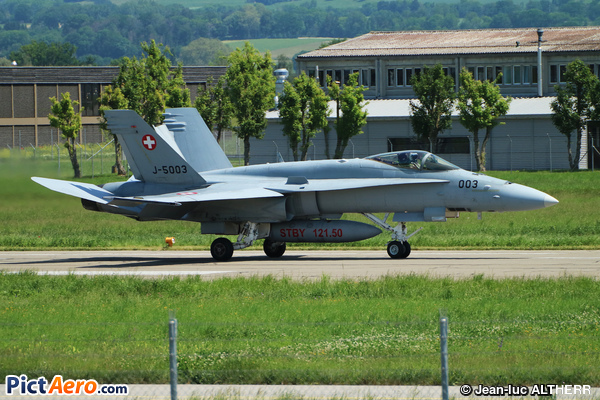 McDonnell Douglas F/A-18C Hornet (Switzerland - Air Force)