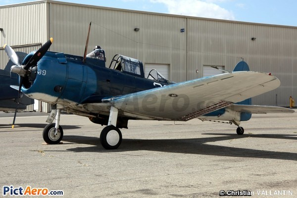 Douglas SBD-5 Dauntless (Planes of Fame Museum Chino California)