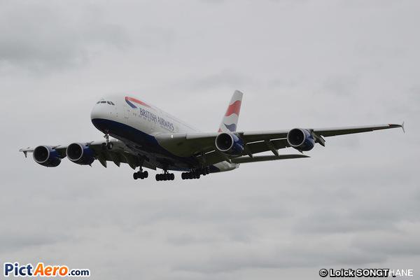 Airbus A380-841 (British Airways)