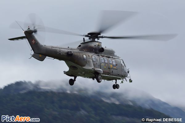Eurocopter EC-532UL Cougar (Switzerland - Air Force)
