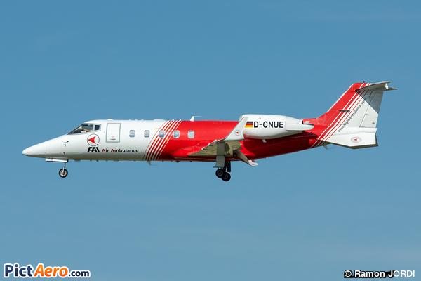Learjet 60 (FAI Air Service)