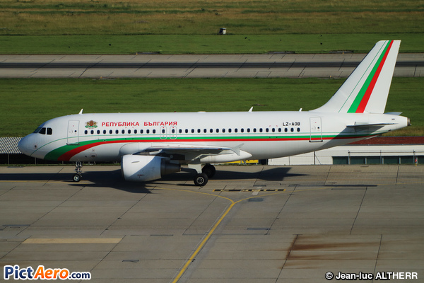 Airbus A319-111 (Bulgaria - Government)