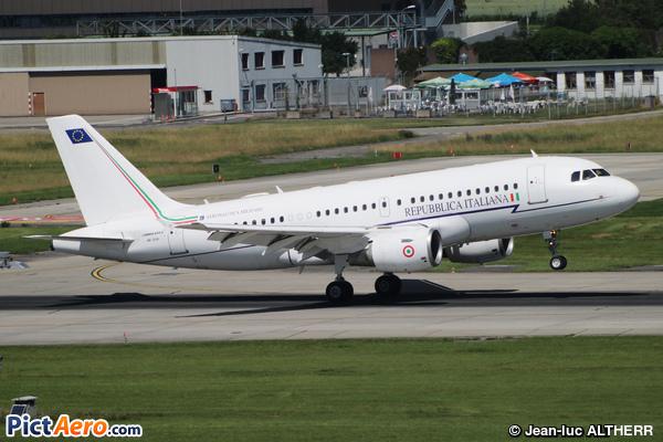 Airbus A319-115X/CJ (Italy - Air Force)