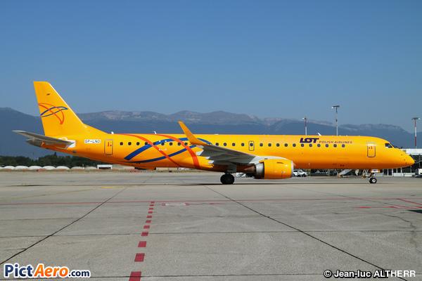 Embraer ERJ-195LR (ERJ-190-200LR) (LOT Polish Airlines)