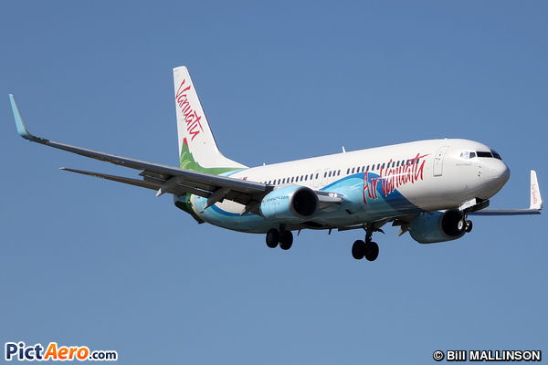 Boeing 738-8SH/WL (Air Vanuatu)