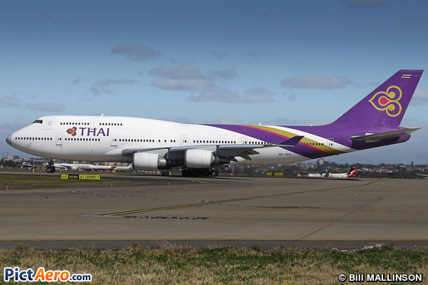 Boeing 747-4D7 (Thai Airways International)