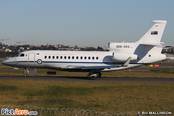 Dassault Falcon 7X (Australia - Royal Australian Air Force (RAAF))