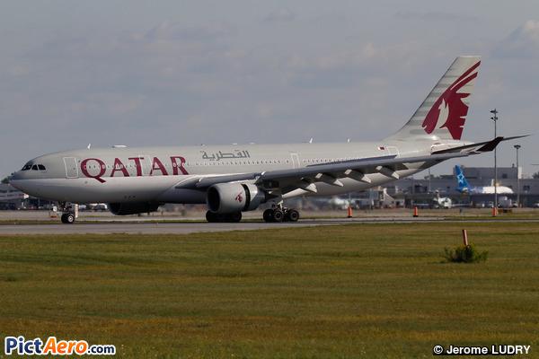 Airbus A330-202 (Qatar Airways)