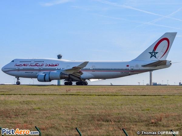 Boeing 747-428 (Royal Air Maroc (RAM))