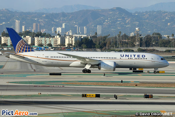 Boeing 787-9 Dreamliner (United Airlines)