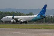 Boeing 737-8U3/WL (PK-GNI)