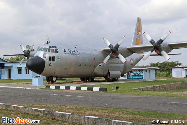 Lockheed C-130B Hercules (Indonesia - Air Force)