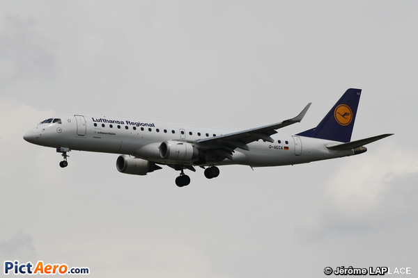 Embraer ERJ-190-100LR 190LR  (Lufthansa CityLine)