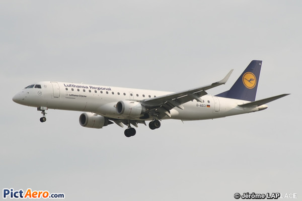 Embraer ERJ-190AR (ERJ-190-100AR) (Lufthansa CityLine)