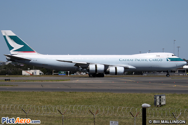 Boeing 747-867F/SCD (Cathay Pacific Cargo)