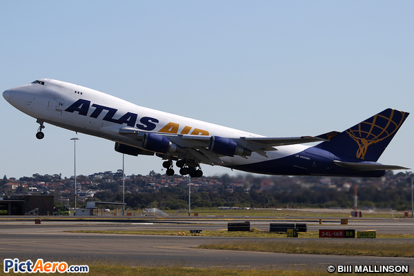 Boeing 747-47UF/SCD (Atlas Air)