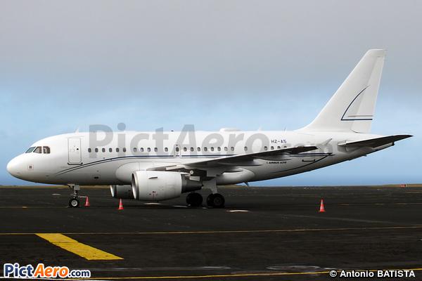 Airbus A318-112/CJ Elite (Alpha Star Aviation Services)