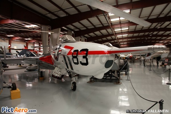 GrummanF9F-8P Cougar (Yanks Air Museum)
