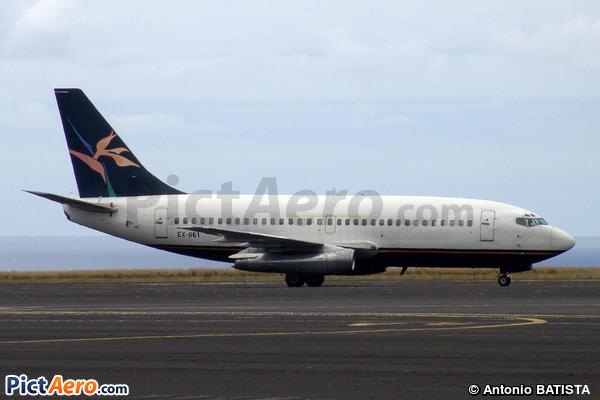 Boeing 737-2S2C(A) (Intal Air)