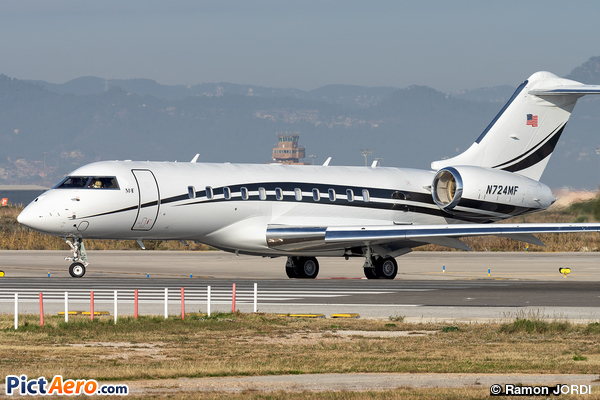 Bombardier BD-700-1A11 Global 5000 (MBF Leasing of Florida LLC)