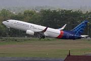 Boeing 737-86N/WL (PK-CRH)