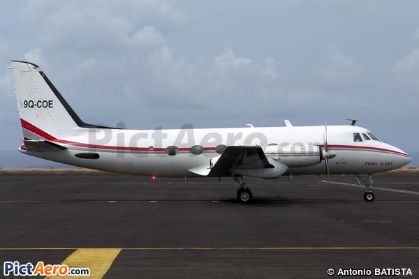 Grumman G-159 Gulfstream I (Otrag Range Air Service)