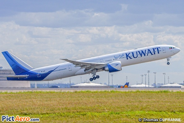 Boeing 777-369/ER (Kuwait Airways)