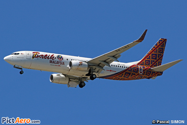 Boeing 737-8GP/WL (Batik Air Malaysia)